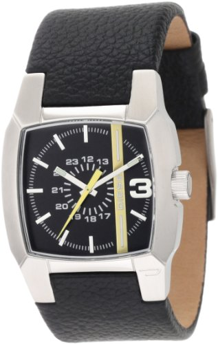 Diesel DZ1089 Analogue Gents Leather Strap Watch