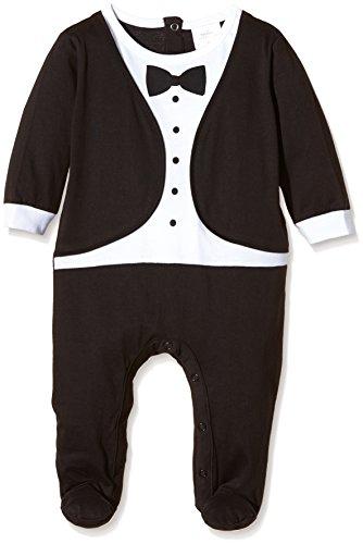 twins-smoking-tutina-pigiama-bimbi-schwarz-schwarz-weiss-730600-68