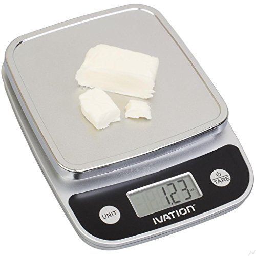 Ivation Lightweight Digital Kitchen Food Scale s Ounce ...