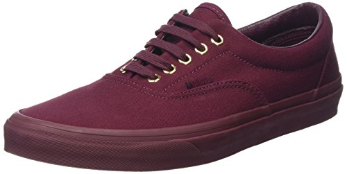 vans-unisex-erwachsene-era-sneakers-rot-gold-mono-port-royale-41-eu
