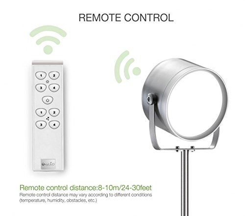 oxyled f10 remote control led floor lamp for living room With remote control floor lamp for sale