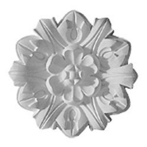 Emery Leaf Ceiling Medallion - 7.625 diam. in.
