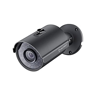 Amcrest ProHD Outdoor 4 Megapixel POE Bullet IP Security Camera - IP67 Weatherproof, 4MP (2688 TVL), IP4M-1025E (Black)