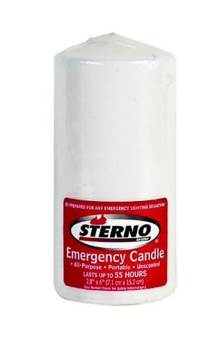 Sterno Emergency Candle, 6-Inch column