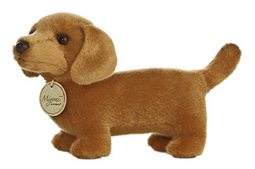 Aurora World Miyoni Dachshund Plush, 8""
