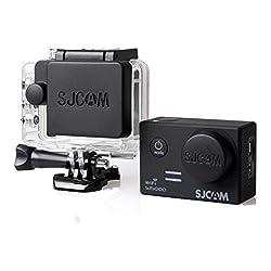 Sjcam Five Season Protective Camera Lens Cover & Housing Case Lens Cap Protector Set for Sjcam Sj5000 Black