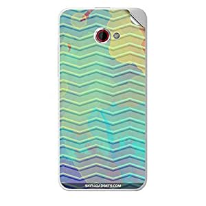 Skin4Gadgets Colourful Waves Phone Skin STICKER for HTC BUTTERFLY S