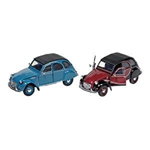 Citroen 2CV 6 Charleston, bleu, die-cast, 1:24