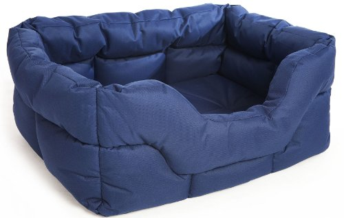 Bild von: P & L Superior Pet Beds Haustierbett Softee, rechteckig, wasserfest, Größe M (mittel), 57x 47x 24cm, Farbe: Braun
