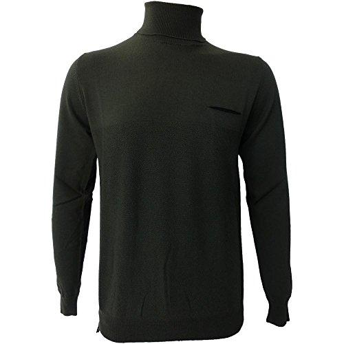 Dolcevita Uomo +39 Masq 0708 - Maglia M90060 100% lana merinos - Made in italy (XL)