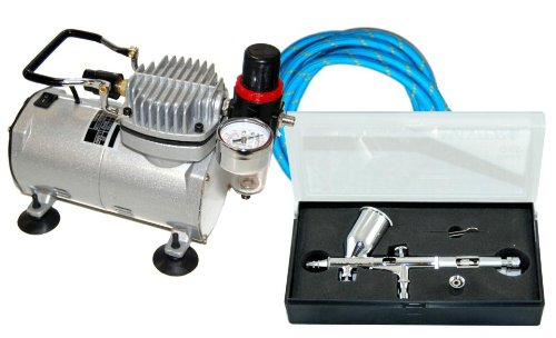 Model Airbrush System G45 with TC-20T Air Compressor