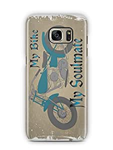 YuBingo My Bike My Soulmate Mobile Case Back Cover for Samsung Galaxy S7