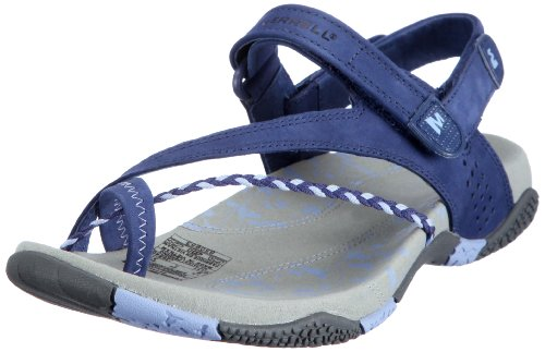 Merrell Women's Siena Twilight Blue Slides Sandal J36840 4 UK