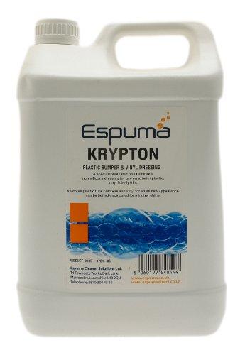 Espuma 0721-05 5L Krypton Plastic Bumper and Vinyl Dressing