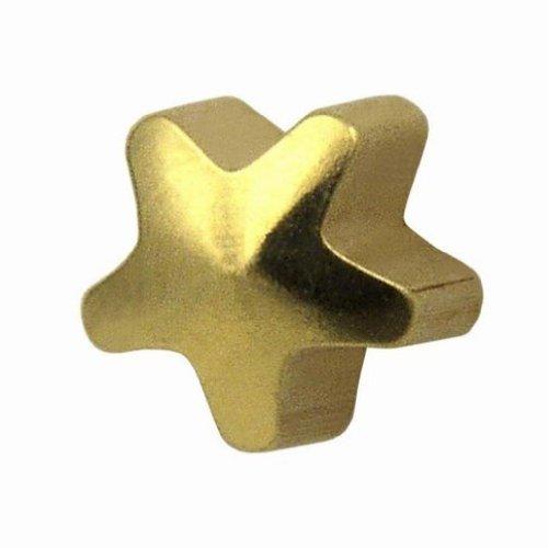 Studex Ear Piercing Mini Gold Plated Plain Star Shape Stud Earrings 2Mm