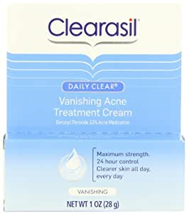 Clearasil Daily Clear Vanishing Acne Treatment Cream, 1 Ounce (Pack of 3)