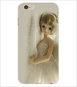 PrintDhaba Cute Doll D-1112 Back Case Cover for APPLE IPHONE 6S (Multi-Coloured)