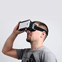 Head Mount Universal Virtual Reality 3d Video Glasses for 4~7 IphoneSamsung