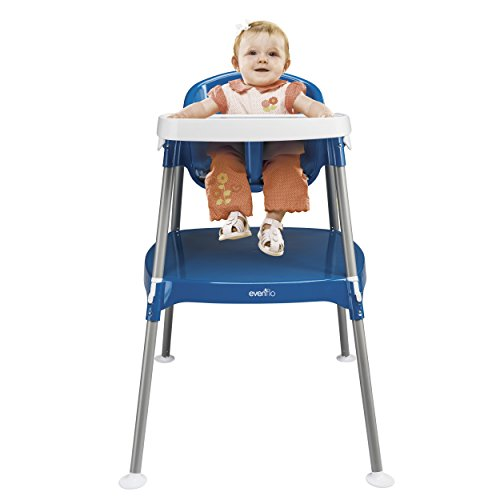 Find Bargain Evenflo Minimeal High Chair Dottie, Royal