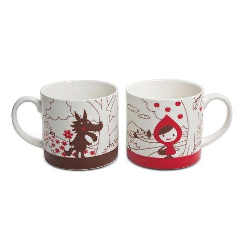 Decole Little Red Riding Hood Mug Set