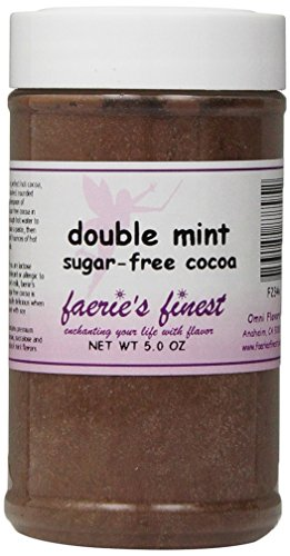 Faeries Finest Sugar-Free Cocoa, Double Mint, 5 Ounce
