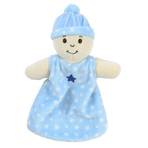 Babies R Us Security Blanket - Light Blue - 1