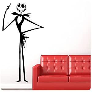 #!Cheap Jack Skellington Nightmare Before Christmas Wall Decal Decor Words Large Nice Sticker
