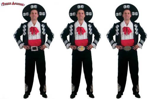 see three amigos deluxe group costume set of three here
