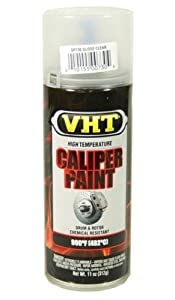 VHT Gloss Clear Aerosol Spray Brake Caliper Coating Hi-temp SP730
