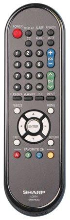 Sharp Ga667Wjsa Factory Original Remote Control