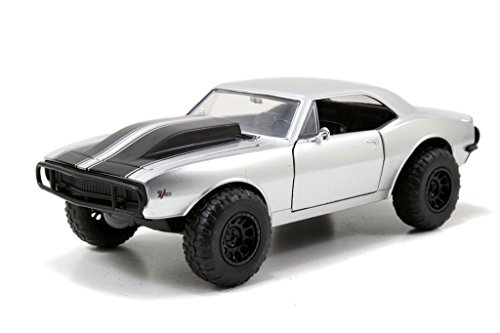 Fast & Furious - Roman's Chevy Camaro Off Road 1:24 Scale (Silver) (1 24 Diecast Cars Camaro compare prices)