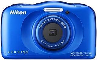 ニコン デジタルカメラ「S33」(ブルー)ニコン COOLPIX S33 S33BL