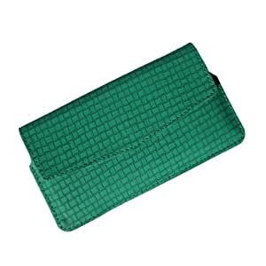 i-KitPit : PU Leather Pouch Case Cover For Lava Xolo Q700 (GREEN)