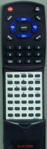 EMERSON Replacement Remote Control for NF027UD, LC320EM9B, LC320EM9, LC320EM93, LC321EM9 (Emerson Laser compare prices)