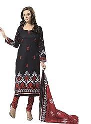 Design Willa Cotton Dress Material Saree (DW0277)