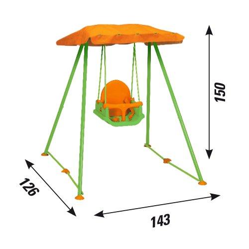New plast amb1319 altalena pieghevole libellula con for Ikea altalena