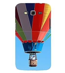 Multi Colour Hot Air Balloon 3D Hard Polycarbonate Designer Back Case Cover for Samsung Galaxy Grand 2 :: Samsung Galaxy Grand 2 G7105 :: Samsung Galaxy Grand 2 G7102