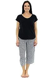 Karen Neuburger Women's Cropped Pajama