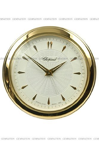Chopard L.U.C. Desk Clock Gold Tone Mechanical Clock 51/1860-00