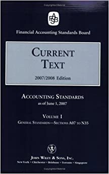 amazoncom  current text accounting standards current text volume  ii