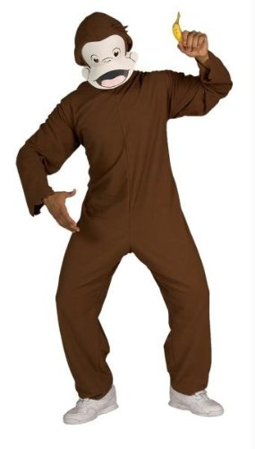 Costumes for all Occasions RU888026 Curious George Adult Std