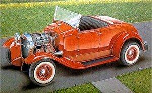 1/16 A-V8 High-Boy Roadster