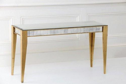 Cheap Notre Monde CTB5418-GL Bistro Console Table – Gold Leaf (CTB5418-GL)