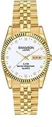 Swanson Ladies Gold-tone Dress Watch,