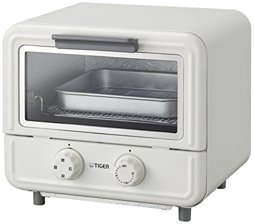 タイガー オーブントースター 「やきたて」 ぷちはこ ホワイト KAO-A850-W
