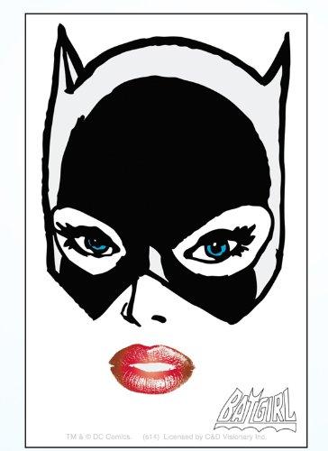 Licenses Products DC Comics Batman Batgirl Closeup Sticker