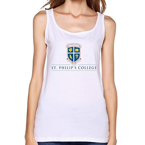 ZHENGAIMEI Womens St Philips College Slim Fit Tank Tee-shirt
