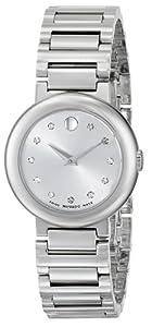 Movado Women's 0606789 Concerto Analog Display Swiss Quartz Silver Watch