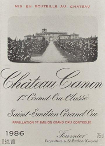 1986 Chateau Canon 750 Ml