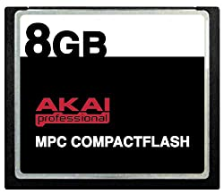 CompactFlash Memory Card by Akai